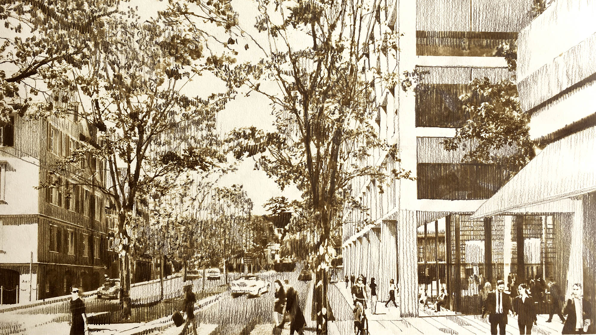 Visualisierung Campus Platztor